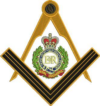 Royal Engineers Masons Embroidered Polo Shirt